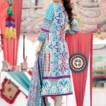 lawn dress design by Amna Ismail