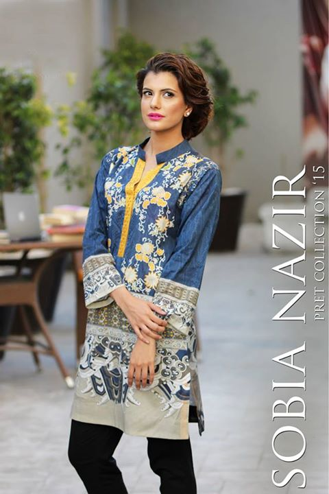 .ong kurti by Sobia Nazir
