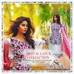 Digital Embroidered Pret Wear Collection 2015 By So Kamal