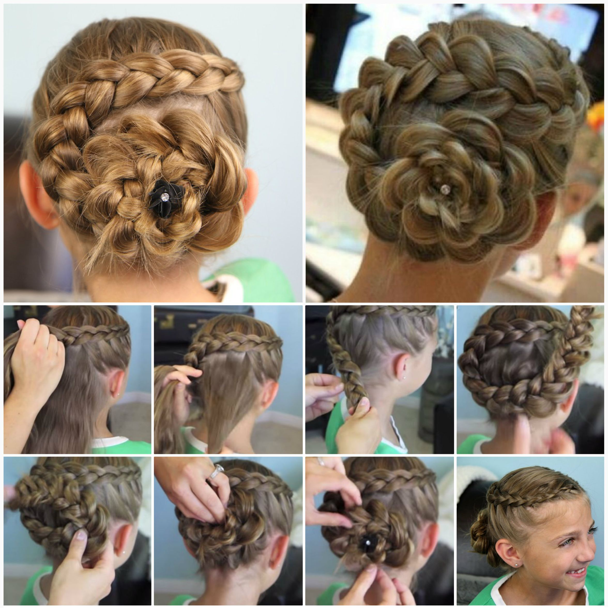 New Party Hair Style Without Makeup