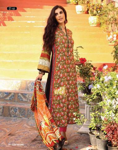 Eid Wear Collection 2015 by Shariq Textiles