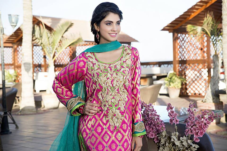 Cotton Ginny  Eid Wear Collection 2015 for Women