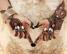 new fashion mehndi hinna bride