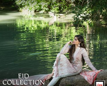 Zainab Chottani summer Eid wear for women by LSM 2015