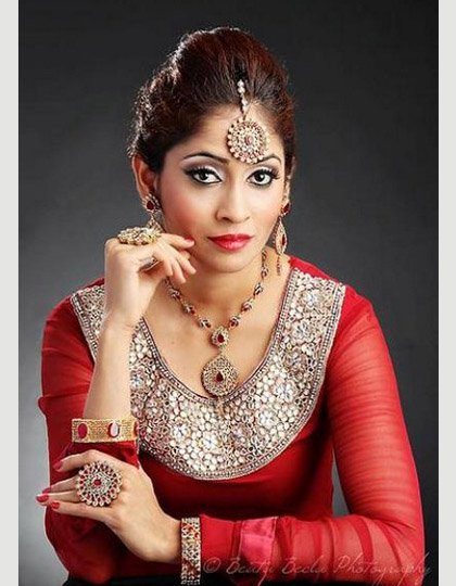 Indian make up 2015