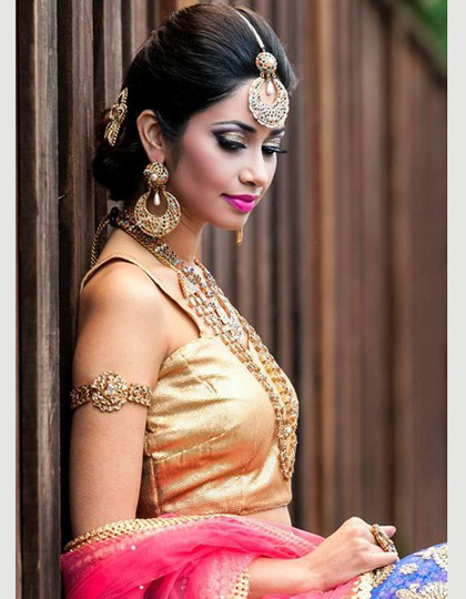 great bridal make up design 2015