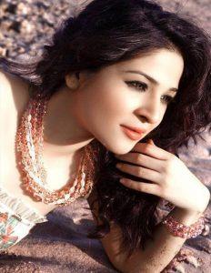 Ayesha Omer in white suit