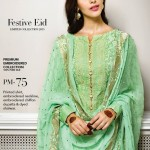 green color lawn dress