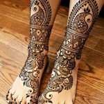 legs and feet Mehndi
