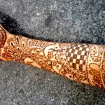 mehndi in cone shaped