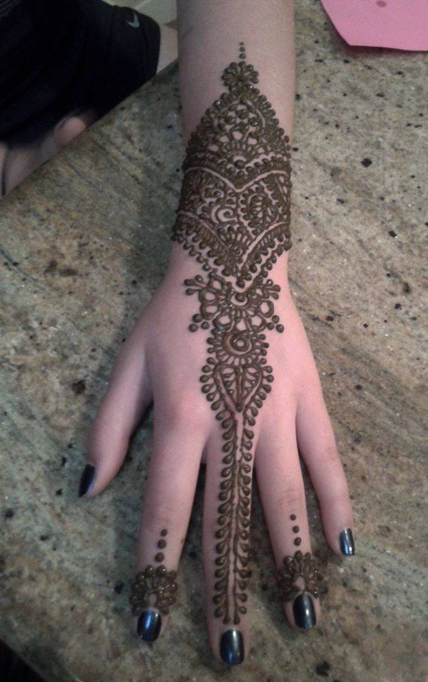 Hinna Mehndi 2020 new design