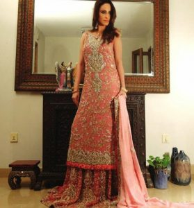 Beautiful Dulhan Bridal Wear 2015-16
