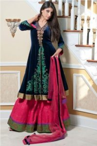 latest frock and bridal design 2015
