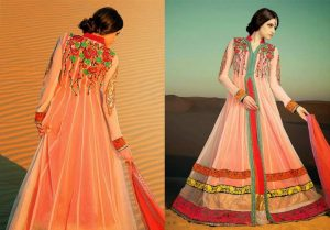 Beautiful Frock Design 2015