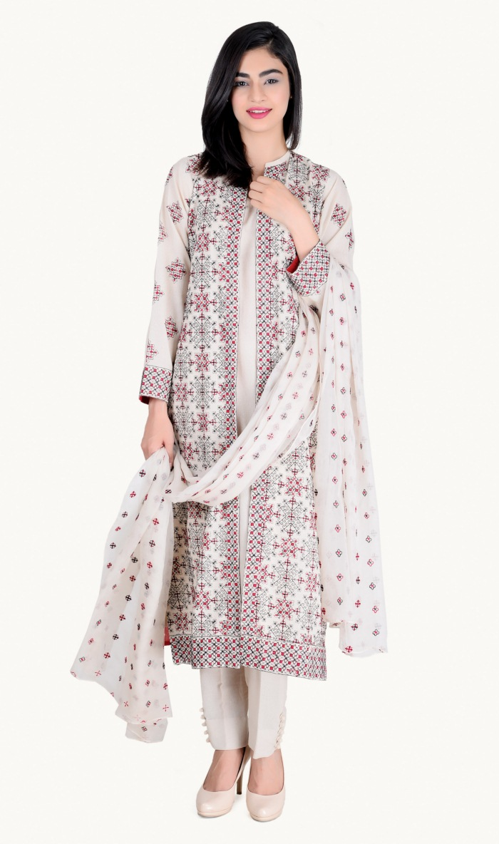 Bareeze Lawn Karandi 2015-16 Eid ul Adha for girls