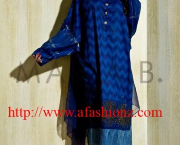 Maria B's Mkids Latest Shalwar kameez dress 2015-16