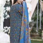 Phulkari Autumn Dress Collection 2015-16 by Taana Baana