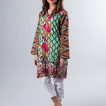 Cute Peace Dress Collection 2015 by Zari Faisal for girls