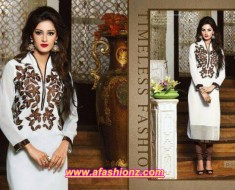 khaadi cambric dress for women eid ul adha 2015