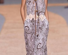 Chloé Lavish Runway Dresses 2015-16 Girls And Ladies