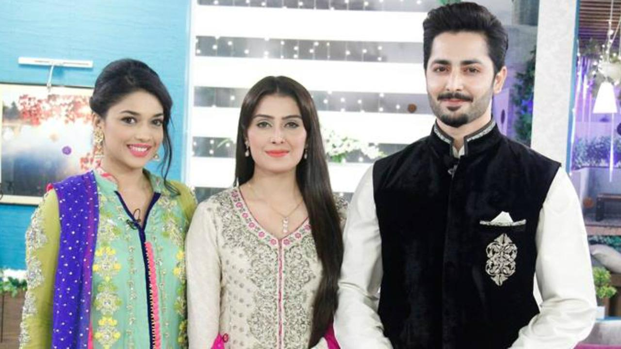 Interview of aiza khan ayeza khan