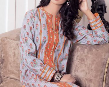 Kayseria Pakistani Fall winter Printed Shirts 2015-16 for Girls (1)
