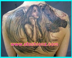 Latest Angel Tattoos Art Designs For Women 2016-17 is the best tattoos design art collection of angel tattoos art design for girls 2016-2017.