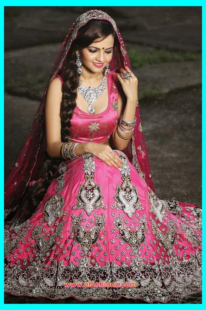 Beautiful Nikah Dresses Designs For Girls 2015-2016