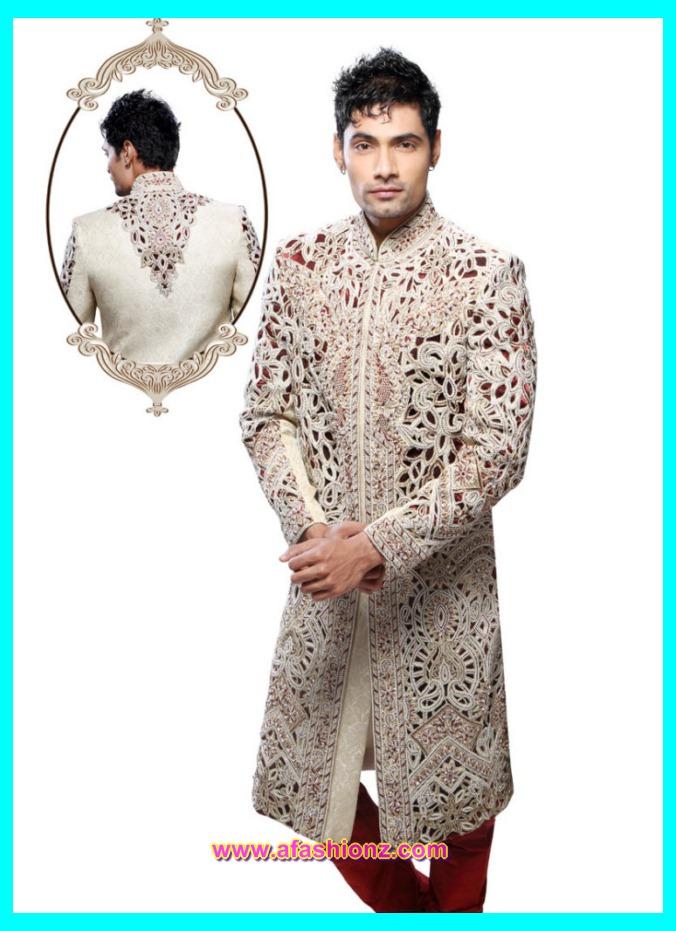 Latest Sherwani Dress Designs For Boys 2015-2016