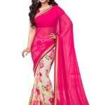 Best collection of Latest Saree & Lehenga (Lehnga) With Blouse Dresses 2015-2016 for girl (2)