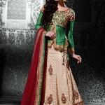 Latest Saree & Lehenga (Lehnga) With Blouse Dresses 2015-2016 for women (7)
