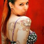 Latest Tiger Colorful Tattoos Designs For Ladies 2015-2016