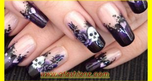 Latest Stylish Nail Art Design Collection For Girls Of 2015