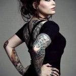 Tattoos Designs Art For Beautiful Girls 2015-2016