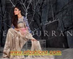 Latest Formal Wear Dress For Women By Tena Durrani 2015-2016