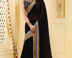 Dark Beautiful Dresses For Divali By Utsav Fashion