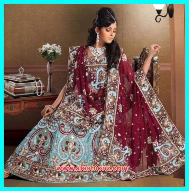 Girls Walima Dress Designs For Bride 2016-17