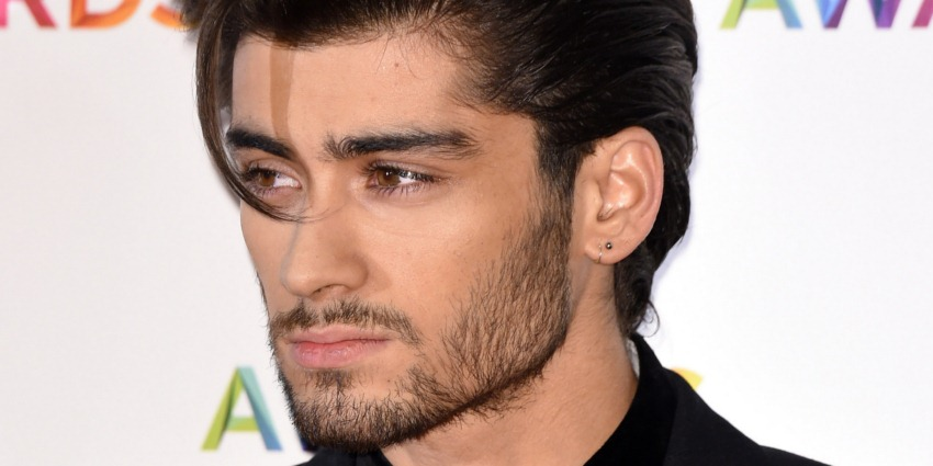 Zayn Malik Hairstyle : Cute Young Singer Zayn Malik Hairstyle for Men