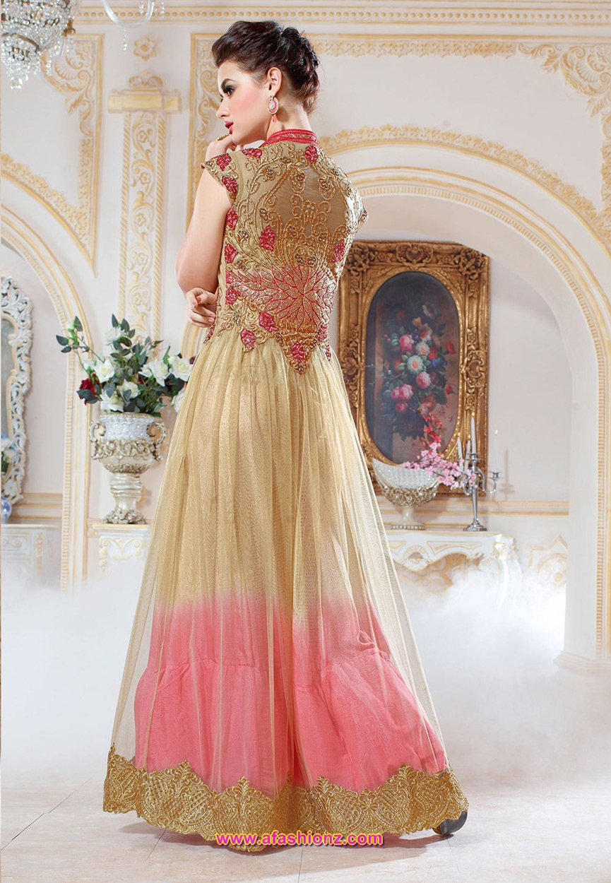 New dress collection for diwali for women - Bright Dress Collection For Divali By Utsav Fashion