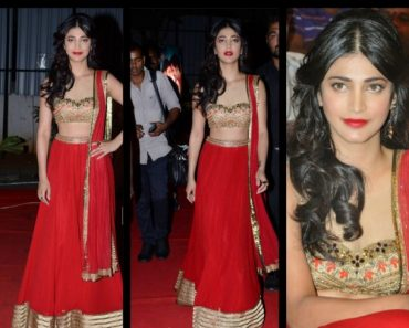 Actress Shruti Hassan wedding dress designs