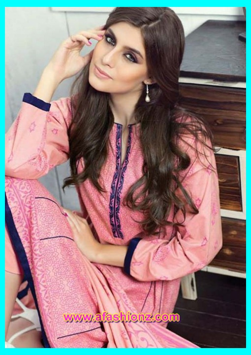 Alkaram Attractive Rangon Ki Dunya Winter Dresses 2015-2016 For girls