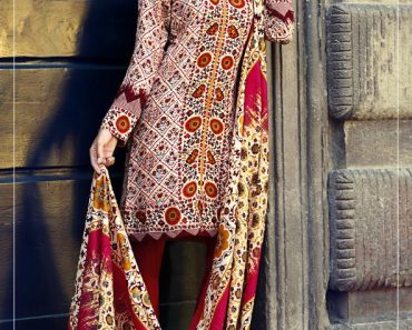 Gul Ahmed pali linen collection for winter 2016-17