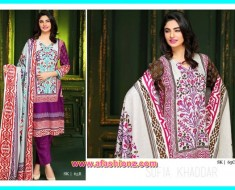 Gallery Of Latest Khaddar Dresses & Anarkali winter Dress For Girls By Sitara Sofia