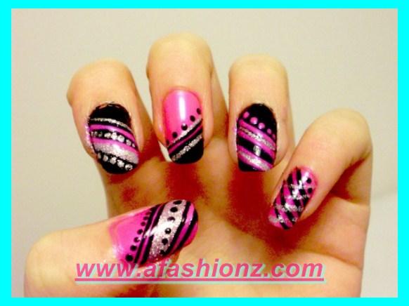 Nail polish nail art designs for women 2016 17 fashionable nail designs for girls prinsesfo Images