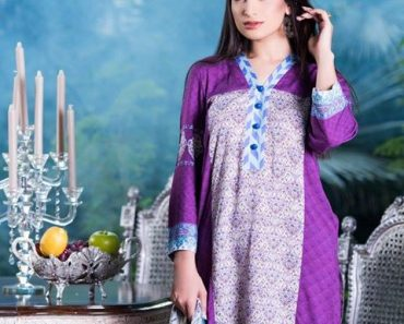 Pareesa Winter Kurtis Collection 2016-17