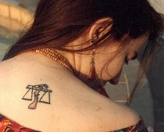 Shoulder Tattoos Designs For Teen Girls