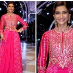Latest Sonam Kapoor saree dress