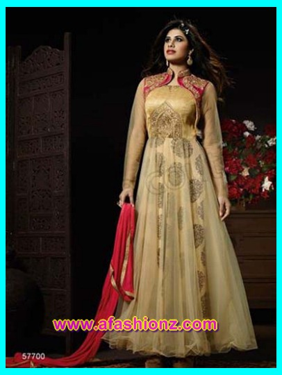 Latest Gallery Of Special Anarkali Frocks By Natasha Couture For Girls 2016-2017