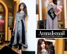 Amna Ismail Semi-Stitched Chiffon Collection