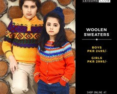 Leisure Club Kids Winter Woolen Sweaters & Jackets 2016